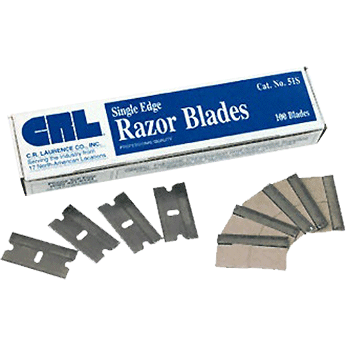 CRL Single Edge Blades